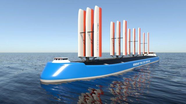 Emisyonsuz gemi