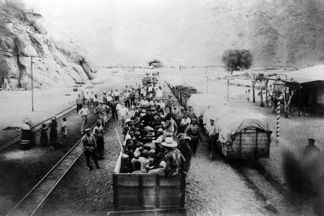 Namibya 1904-1908